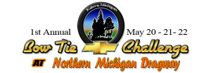 1st Annual Bow Tie Challenge at Northern Michigan Dragway